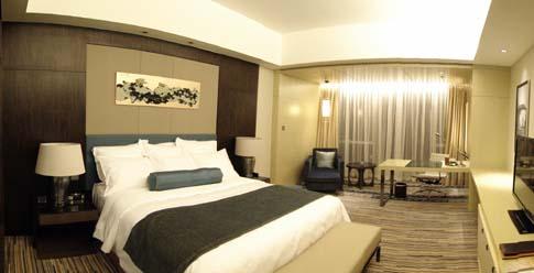 惠州富力万丽酒店酒店房间
