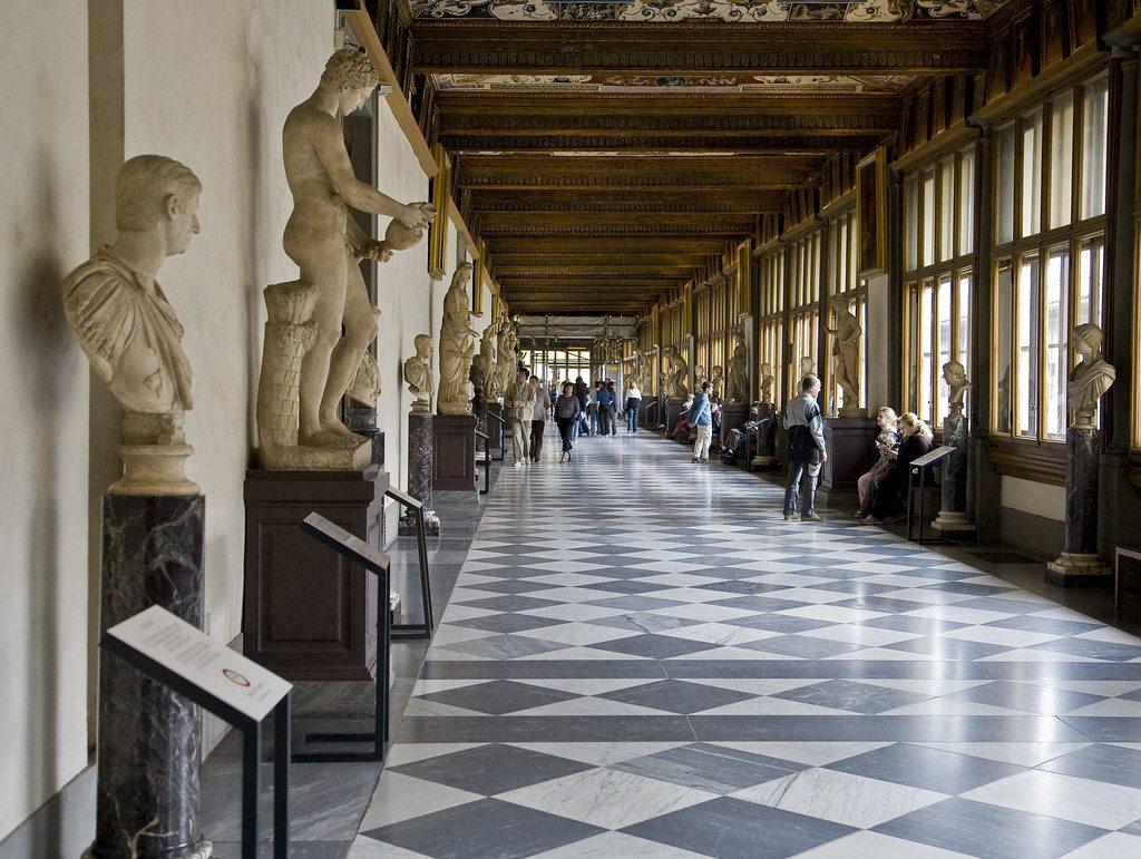 意大利自由行-烏菲茲美術館