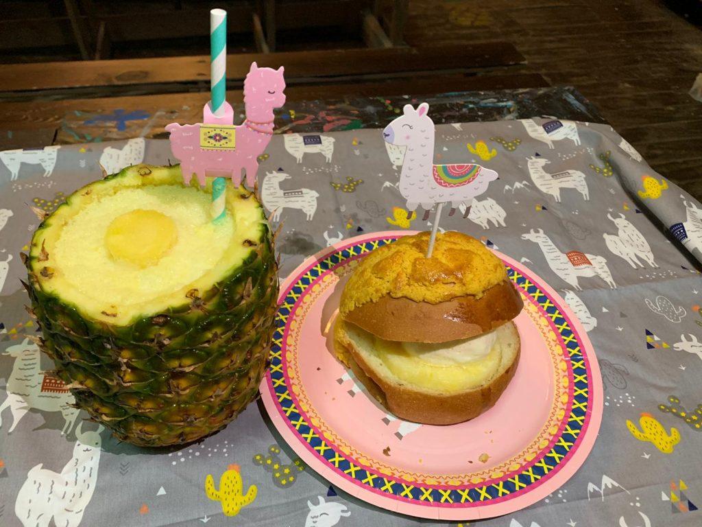 菠蘿園美食