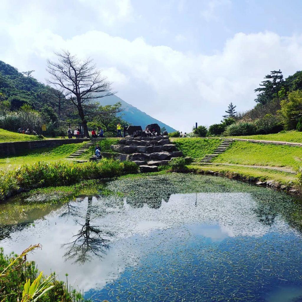 陽明山溫泉景點-二子坪步道