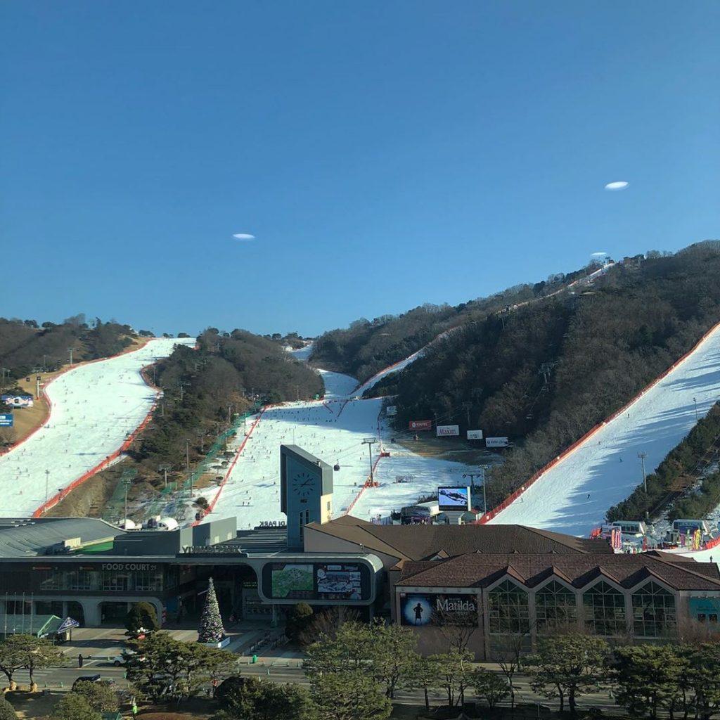 韓國滑雪場