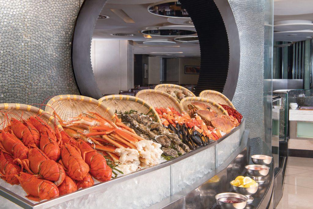 朗廷酒店環球海鮮盛會自助晚餐