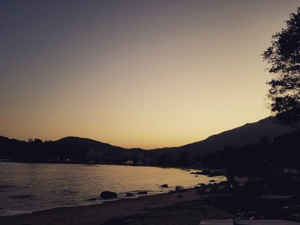 梅窩一日遊-銀礦灣泳灘日落