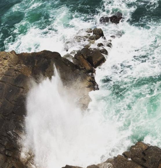離島遊-噴水岩