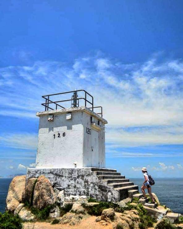 離島遊-蒲台島燈塔