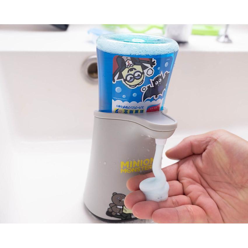 【家居防疫】 MUSE x MINION MONSTERS 限量版 自動感應泡沫洗手液機 + 洗手液