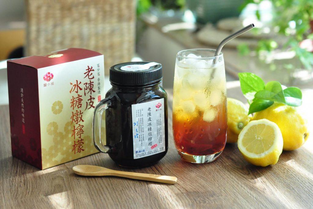 滋潤湯水-老陳皮燉檸檬